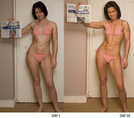 pound GAIN in lean body mass and a 7 pound loss of body fat